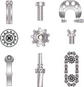 Set of spare parts