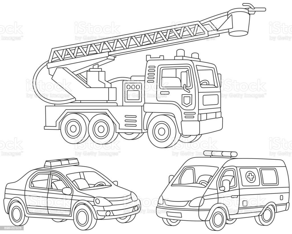 Ozel Tasima Kumesi Stok Vektor Sanati Ambulans Nin Daha Fazla