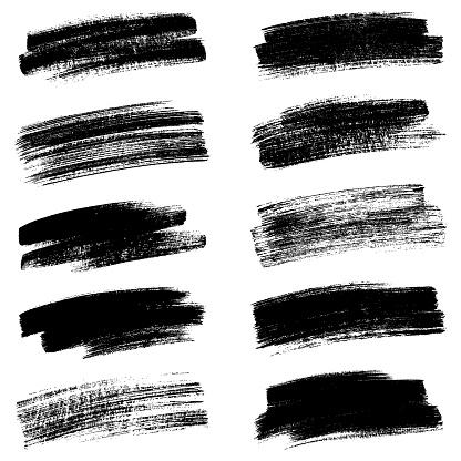 Set of strokes