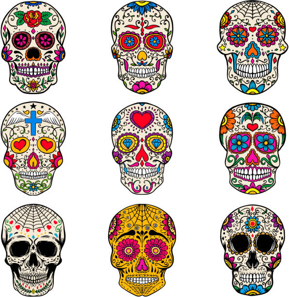 Best Day Of The Dead Illustrations, Royalty-Free Vector