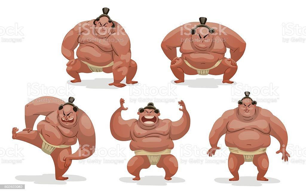 """Résultat de recherche d'images pour """"combat de sumo dessin"""""""