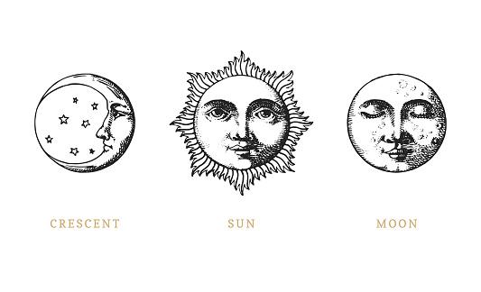 face tattoos stock illustrations