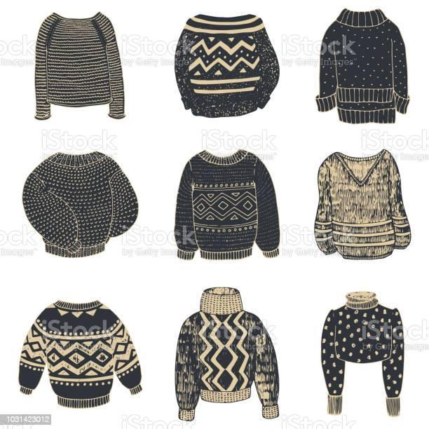 Set of sweaters drawn in pencil vector id1031423012?b=1&k=6&m=1031423012&s=612x612&h=drslor7lbs7bf8sv6fd3nn2vvp7obmqcayxvk1cswsq=
