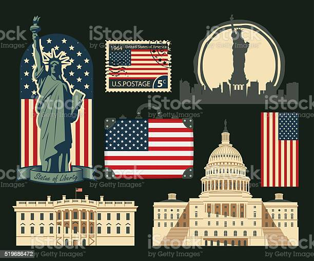 Set of symbols of the united states of america vector id519686472?b=1&k=6&m=519686472&s=612x612&h=53gjjiu mdjynrpwpvzlzlif9qkoicgale3jtlv7dak=