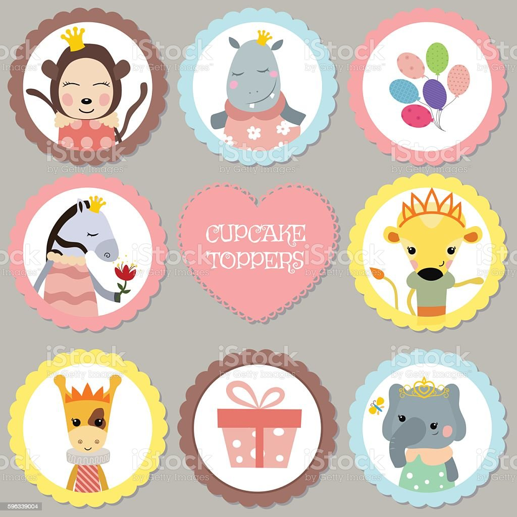 Set of tags with princess theme. royalty-free set of tags with princess theme stock vector art & more images of arts culture and entertainment
