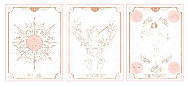 Set of Tarot card, Major Arcana.