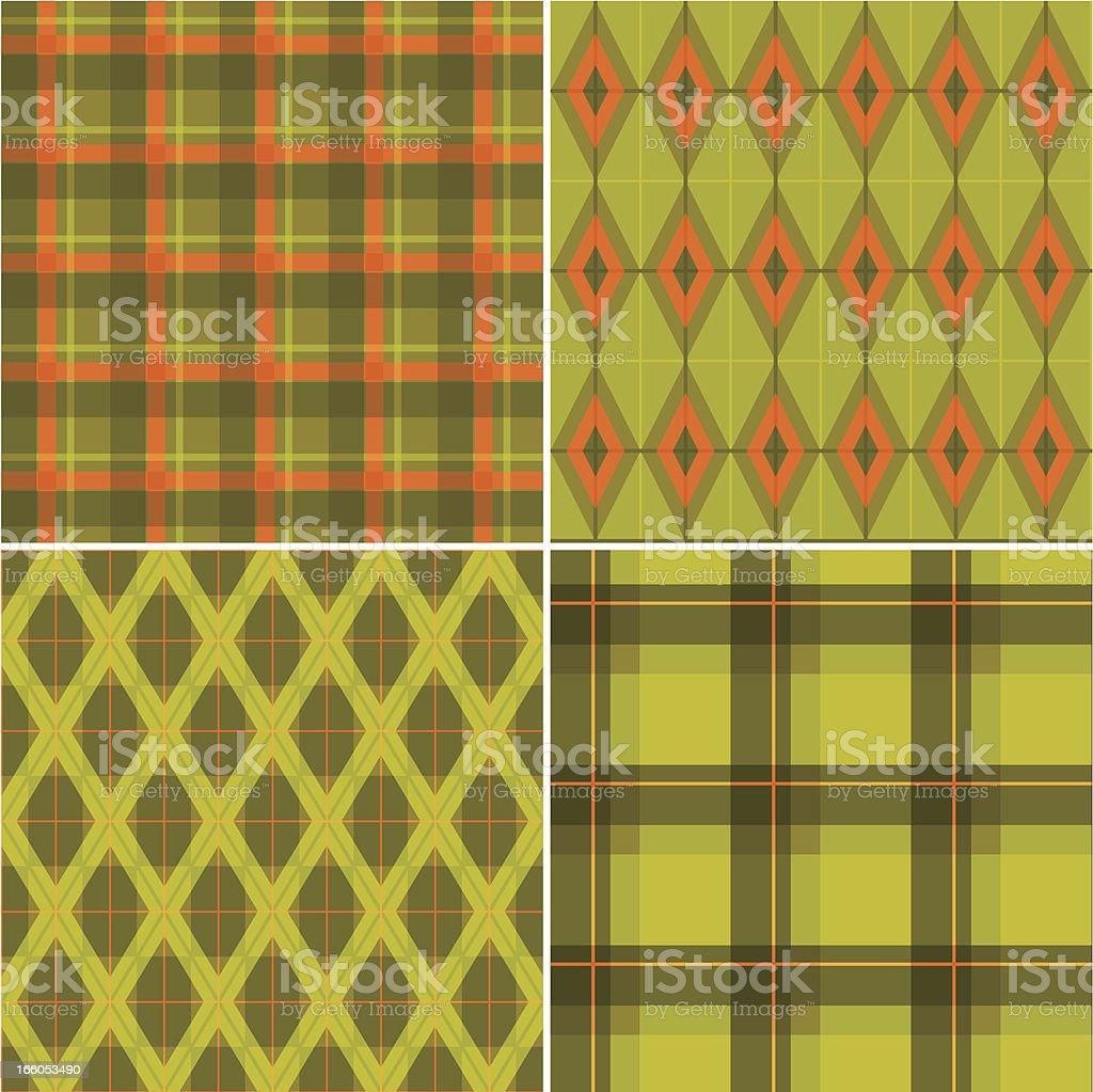 Set of Tartan Patterns royalty-free set of tartan patterns stock vector art & more images of backgrounds