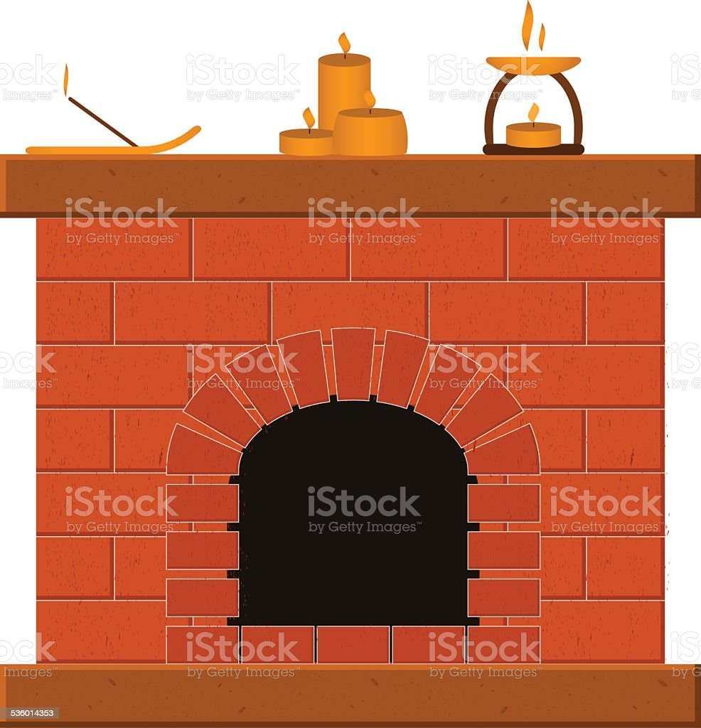 set of templates with fireplaces stock vector art 536014353 istock