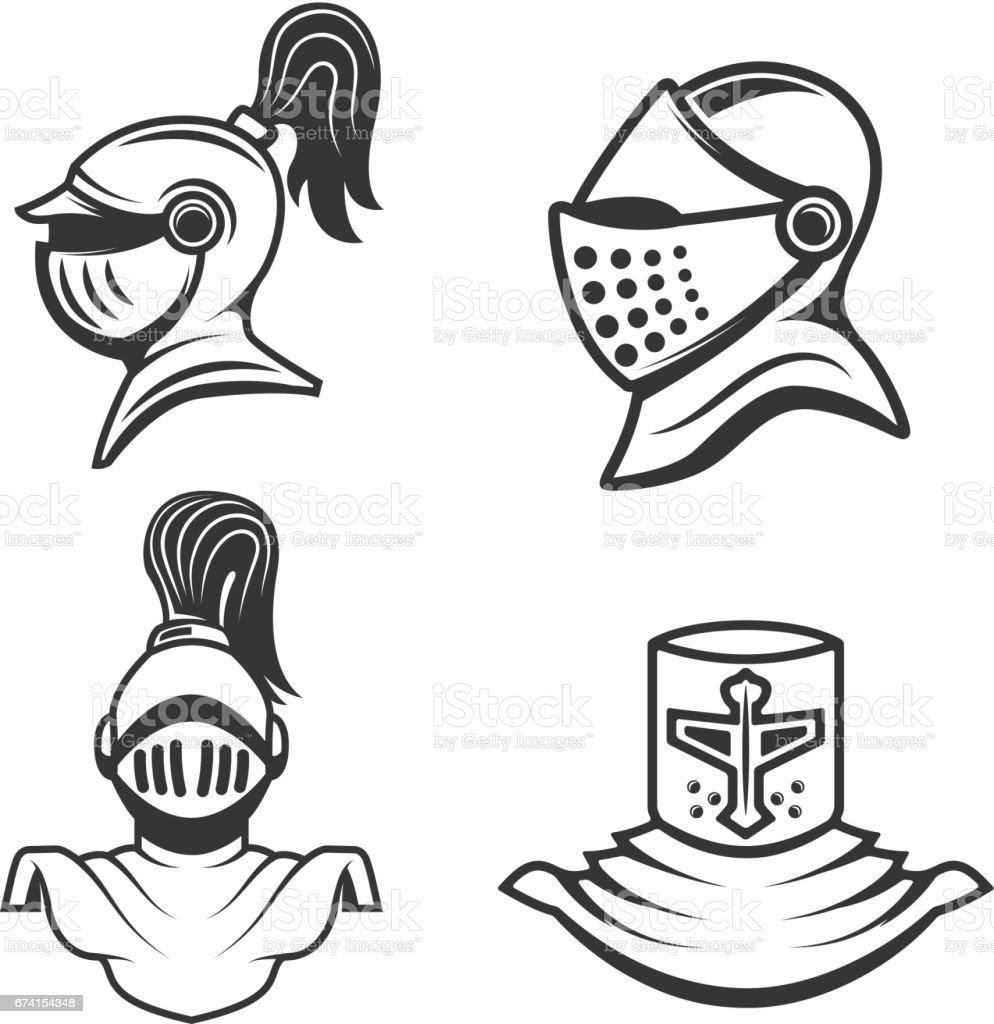 Knight Helmet Images, Stock Photos & Vectors   Shutterstock  Knights Helmet Logo