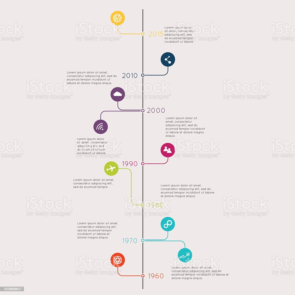 set of timeline infographic design templates diagrams and
