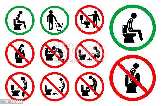 istock set of toilet hygiene sign 1094772564