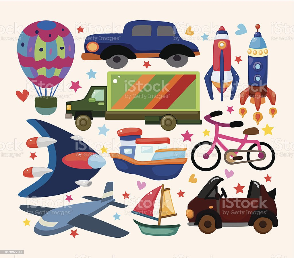 set of transport icons royalty-free set of transport icons stock vector art & more images of air vehicle