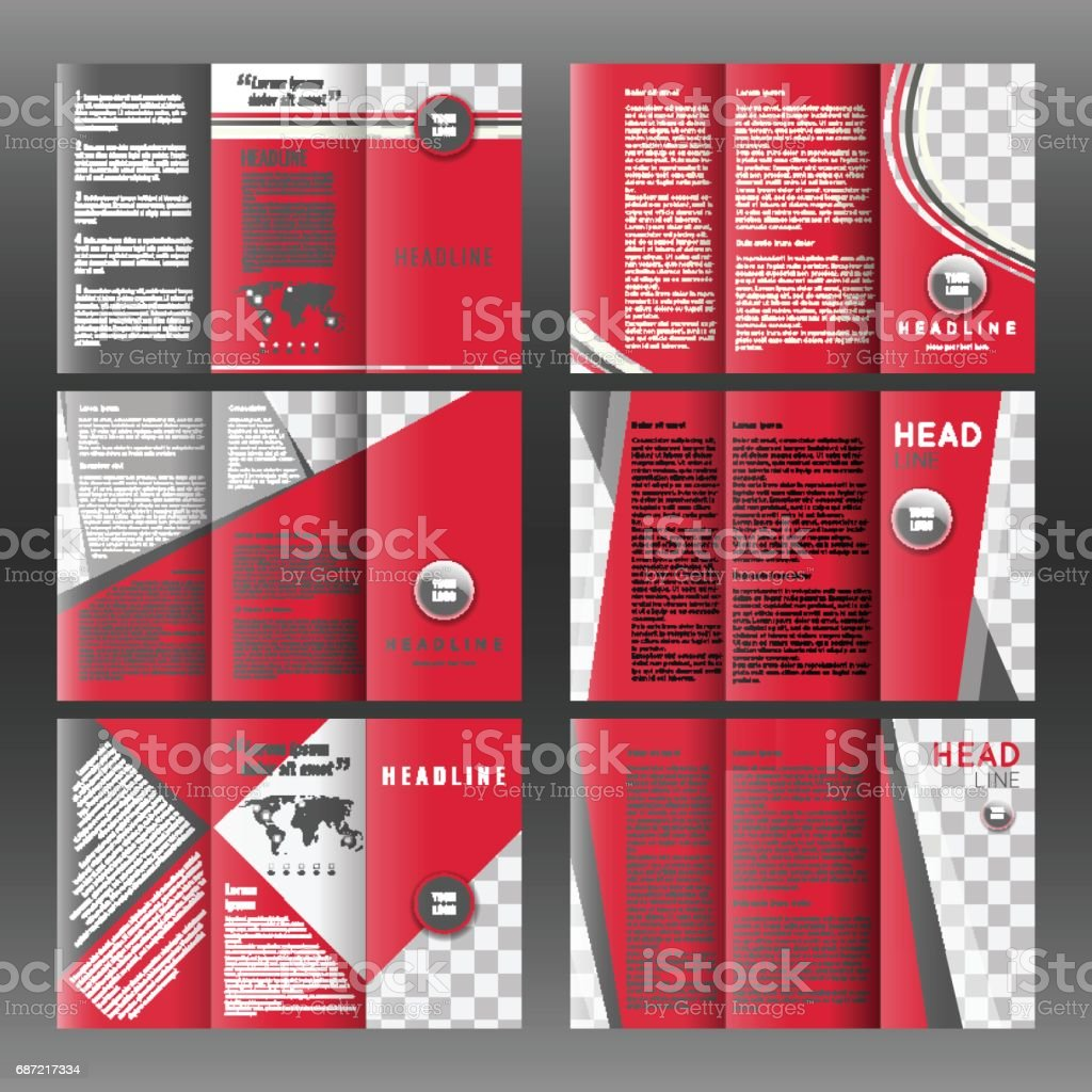 trifold layout
