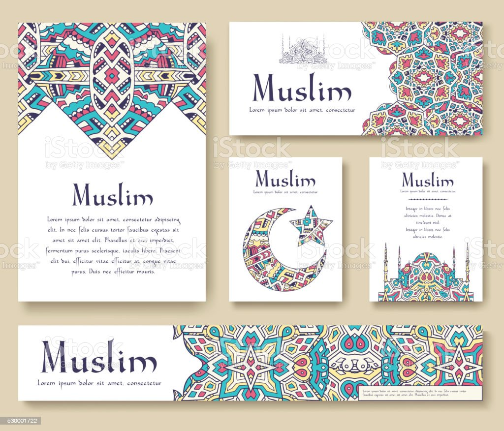 Groupe De Voyageur Turc Decoration De Page Concept De Lillustration