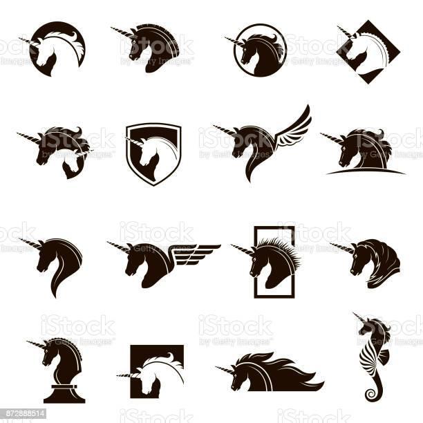 Set of unicorn heads vector id872888514?b=1&k=6&m=872888514&s=612x612&h=6xg75hfriynyfqv3xdojnzr889jm0bmwcxhb7i ty4s=