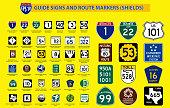 set of United State street sign. (carolina,oklahoma,albama,kansas,new \n\nyork,ohio,dallas,florida,brooklyn,missouri). easy to modify