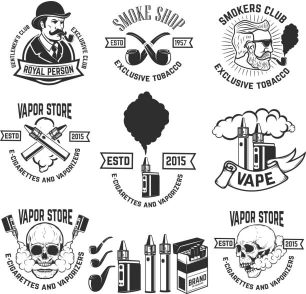 Best E Cigarette Illustrations, Royalty-Free Vector Graphics & Clip