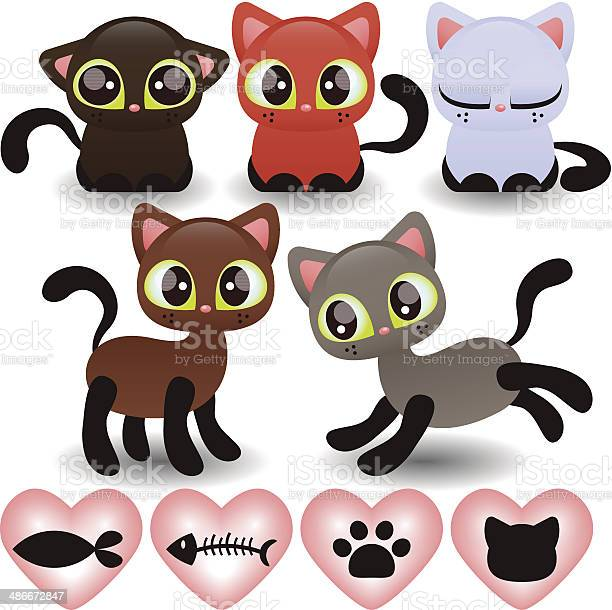 Set of various cute little kittens vector id486672847?b=1&k=6&m=486672847&s=612x612&h=znwgrvhpb3ivccsop 86nbihjfvbulporvebyclso2g=