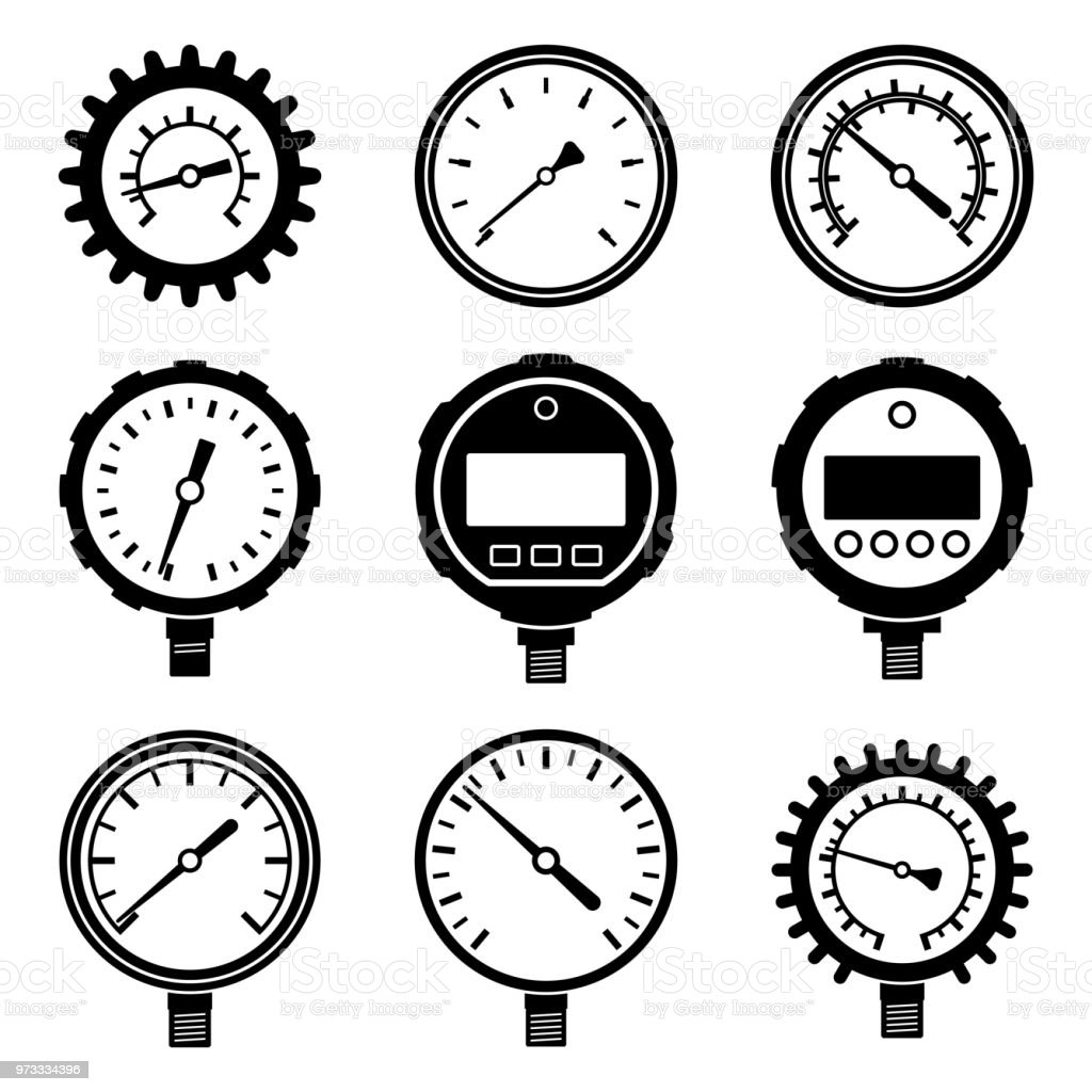top 60 pressure gauge clip art  vector graphics and