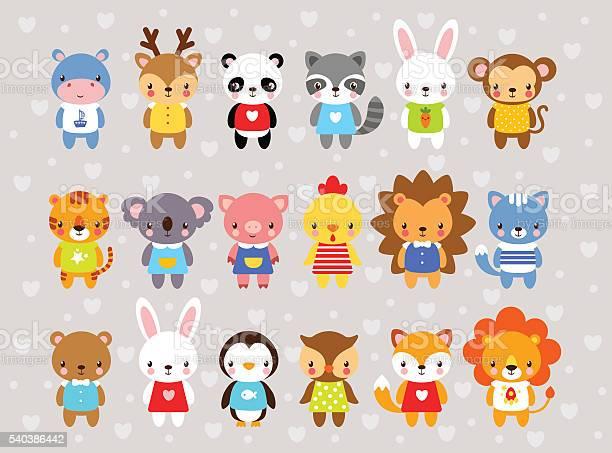Set of vector animals in cartoon style vector id540386442?b=1&k=6&m=540386442&s=612x612&h=hqyjxk6h3715n3m4opbpk ets8wg7ycmobooitw kks=