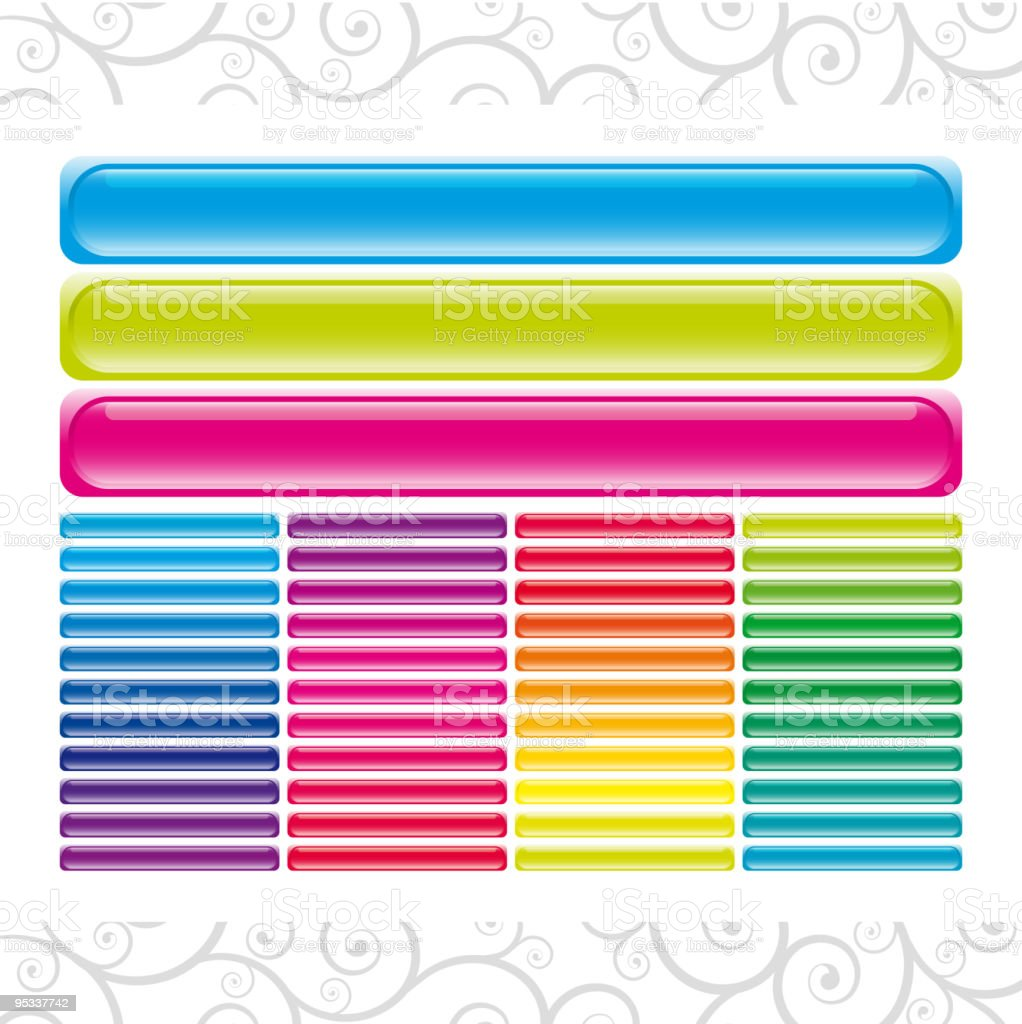 Set of vector banners royalty-free stock vector art