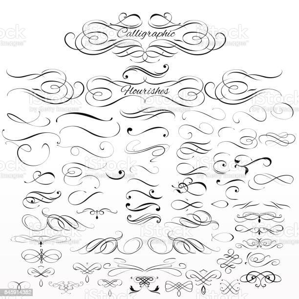Set of vector calligraphic elements and page decorations vector id845914382?b=1&k=6&m=845914382&s=612x612&h=hel88p9teo8fghpcpcfxvwhuzhi  d5 e00oa7q0yxs=