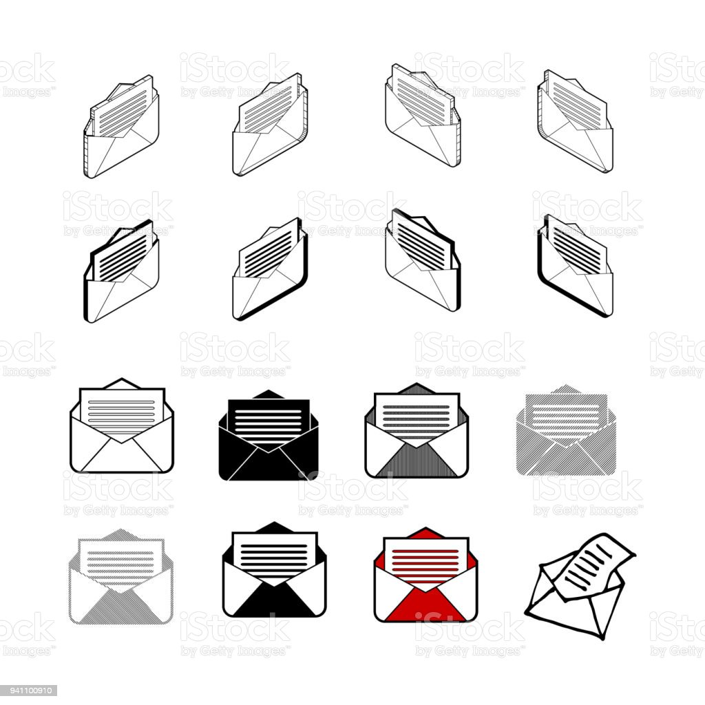 29cde2c281eb Set of vector Collection modern vector. Letter icon multi type of 3d  isometric, solid