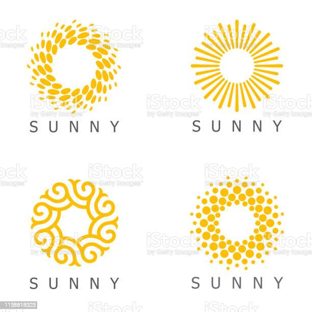 Set of vector design template sun abstract icons vector id1138818323?b=1&k=6&m=1138818323&s=612x612&h= tzwam8snywxkmvajivkbxs g fzccpu21p9vlecqbm=