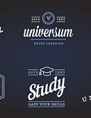 Set of Vector Education Icons Illustration can be used as icon or Icon in premium quality