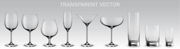 一連のベクトルグラス - ワイングラス点のイラスト素材/クリップアート素材/マンガ素材/アイコン素材