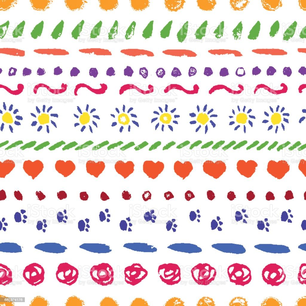 Set of vector hand drawing borders for frames, background, decor. set of vector hand drawing borders for frames background decor - stockowe grafiki wektorowe i więcej obrazów akwarela royalty-free