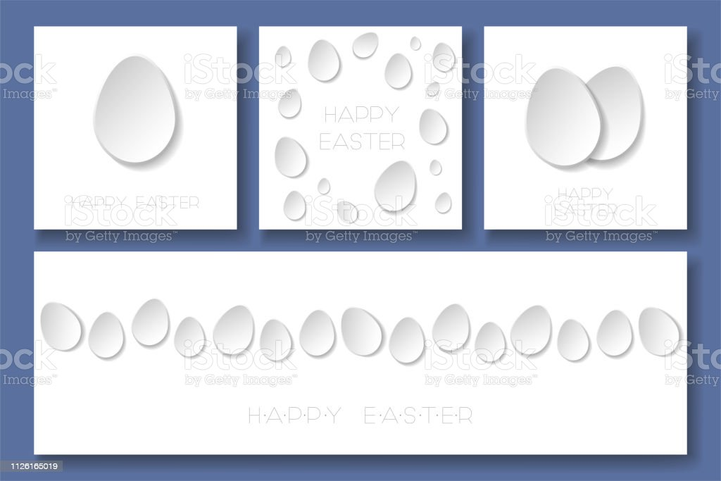 Set of abstract 3d origami logos Royalty Free Vector Image | 683x1024