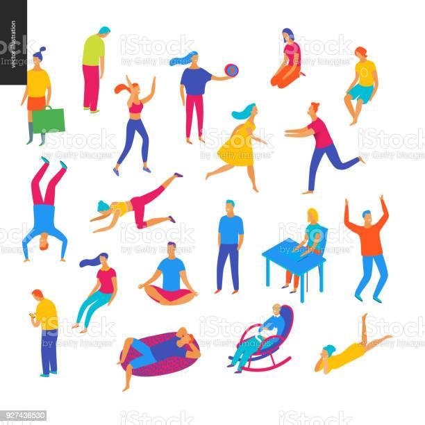 Set of vector illustrated people vector id927436530?b=1&k=6&m=927436530&s=612x612&h=zusgcsw ulyy8qnofbdyjtbg6n9fu4ow lalon5asei=