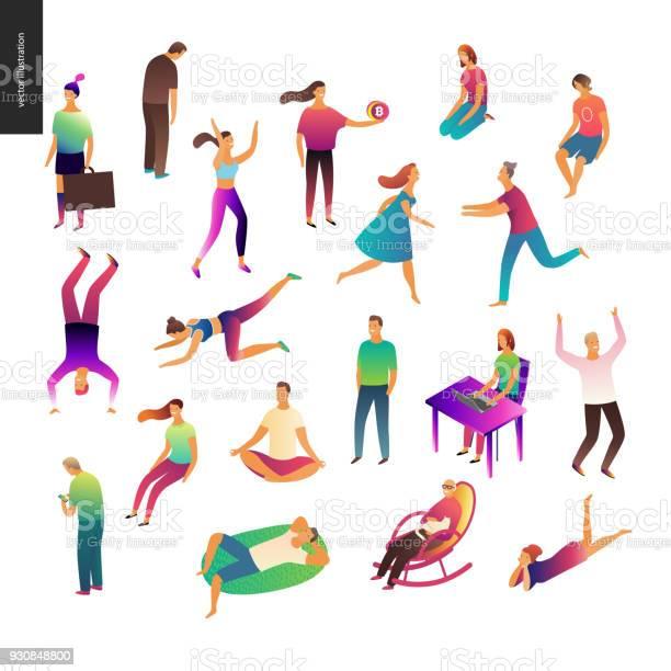 Set of vector illustrated people vector id930848800?b=1&k=6&m=930848800&s=612x612&h=jsklyrdhk3cuvm3kgqwxtzv mipbql 8utiukzslici=