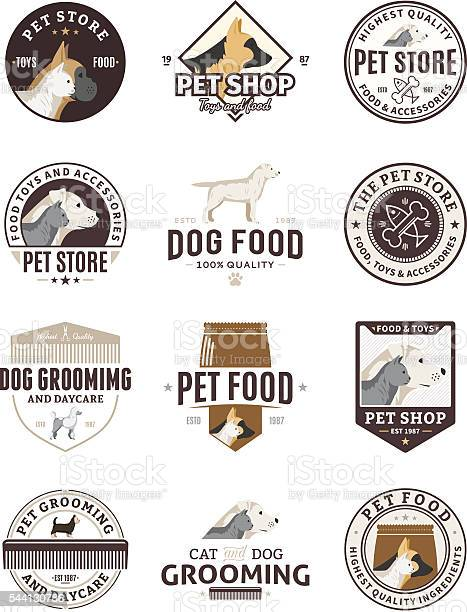 Set of vector pet labels and icons vector id544130786?b=1&k=6&m=544130786&s=612x612&h=fuileyrm84zf0j uokbgznft7ac2tmbex8npk8h1x5o=