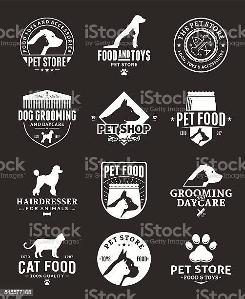 Set of vector pet labels and icons vector id545577108?b=1&k=6&m=545577108&s=612x612&h=gq ncuiwyvg 5 qww8fyzwauuuvffqsevrmv2wtbv c=