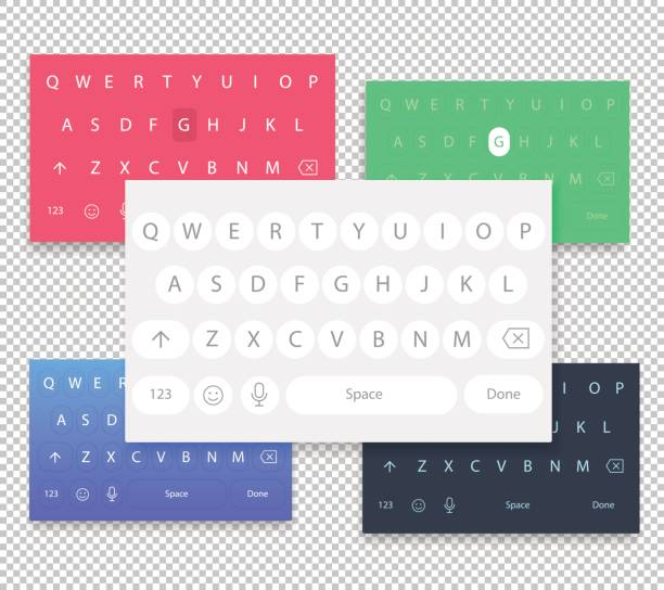 Qwerty Keyboard Vector Art & Graphics | freevector.com