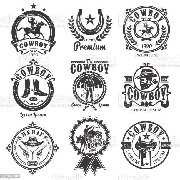 Set of vector rodeo logos vector id627931692?b=1&k=6&m=627931692&s=612x612&h=maq6zcpy9766w iieablau6h6ioqei75mqsez2yt7qi=