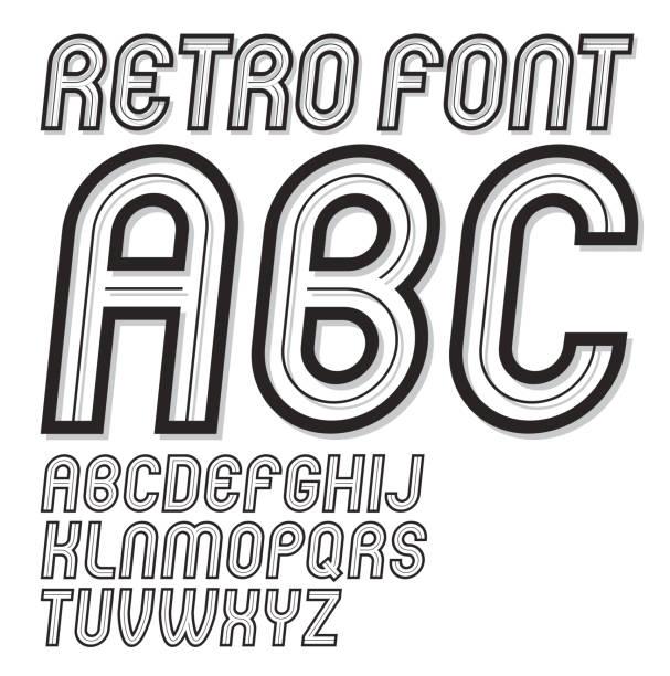 Cool Letter Designs A Z Clip Art Vector Images Illustrations