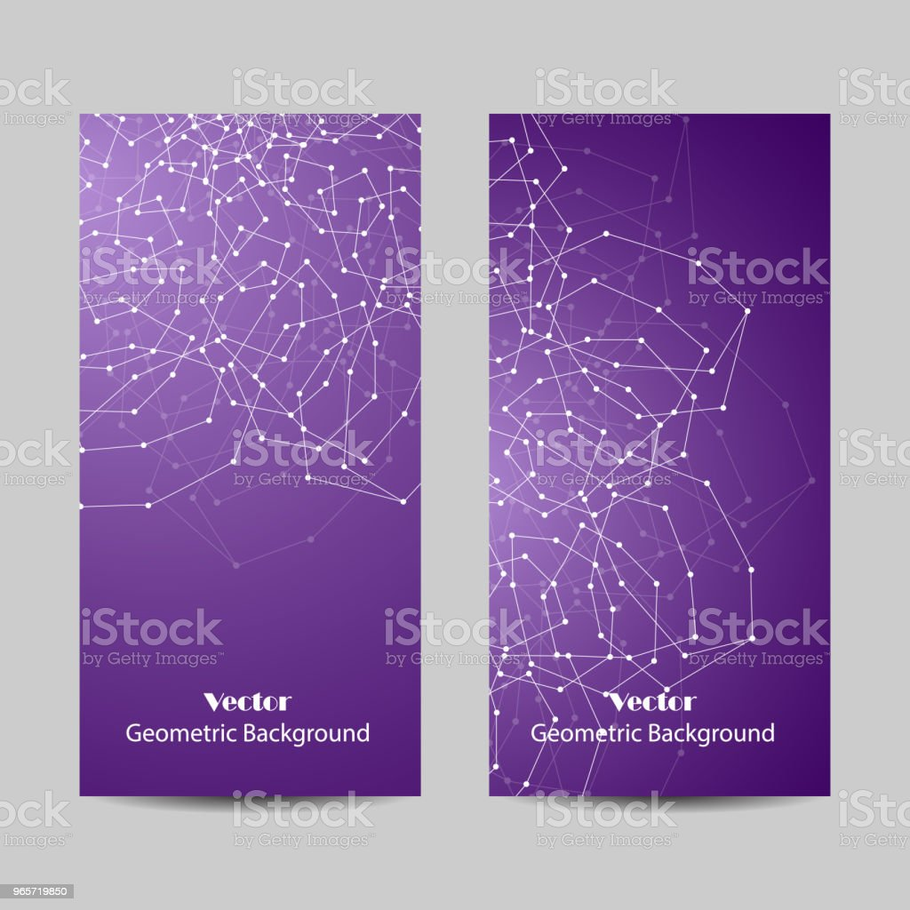 Set of vertical banners. - Royalty-free Abstract stock vector