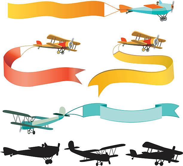 Best Biplane Illustrations, Royalty-Free Vector Graphics ...
