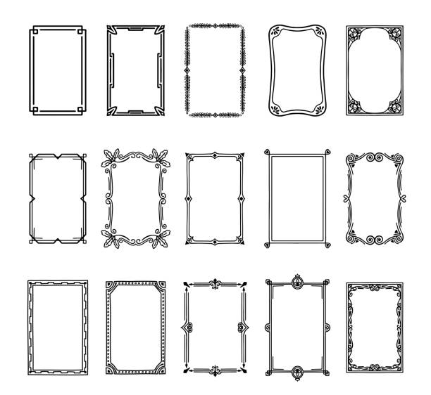 144 846 Black And White Decoration Stock Photos Pictures Royalty Free Images Istock