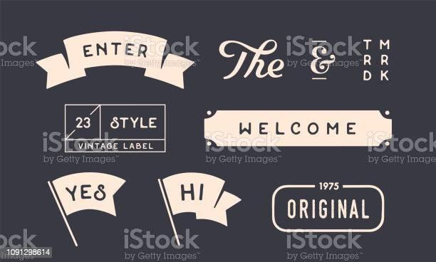 Set of vintage graphic design elements linear drawing vector id1091298614?b=1&k=6&m=1091298614&s=612x612&h=dwenh6vlknps bg80vmqn0ipnl 3zql  gnrndzjcv0=