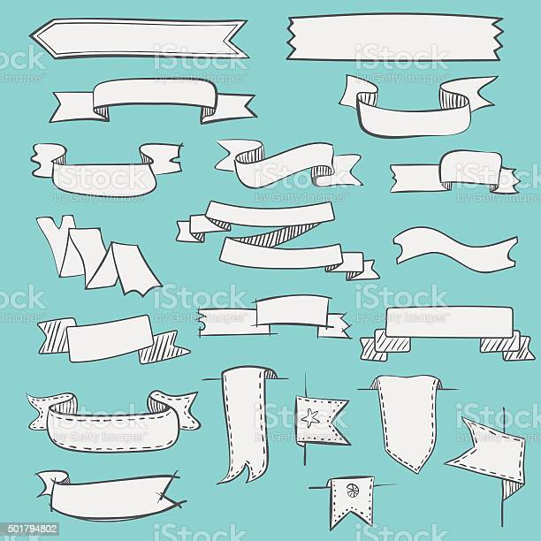 Set of vintage hand drawn ribbons and labels vector id501794802?b=1&k=6&m=501794802&s=612x612&h=enxci09bnbbxjkvmzljyyzyufks ywlkcvlqvejzy c=
