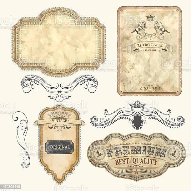 Set of vintage labels vector id472303449?b=1&k=6&m=472303449&s=612x612&h=sv031bmz ialx8hatfa5zlfcxdwf7jrnf0vfeh mck8=