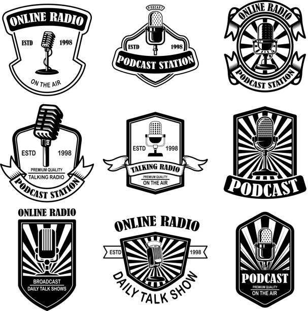 Best Old Microphone Illustrations, Royalty-Free Vector ...