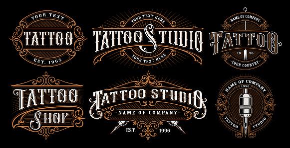 tattoo artist stock illustrations