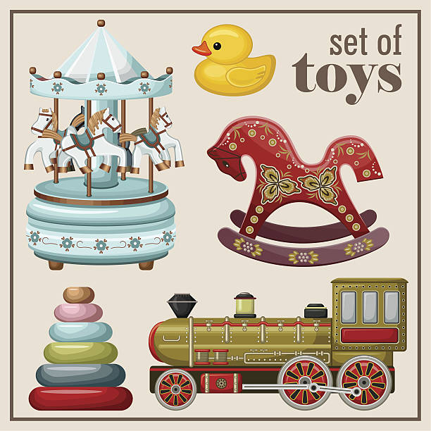 Toy Store Illustrations, Royalty-Free Vector Graphics ...