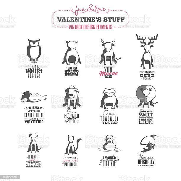 Set of vintage valentines day design elements vector id465228591?b=1&k=6&m=465228591&s=612x612&h=cirjwcjirxboz72qfcbbov5f1f ieqjconidcikis98=
