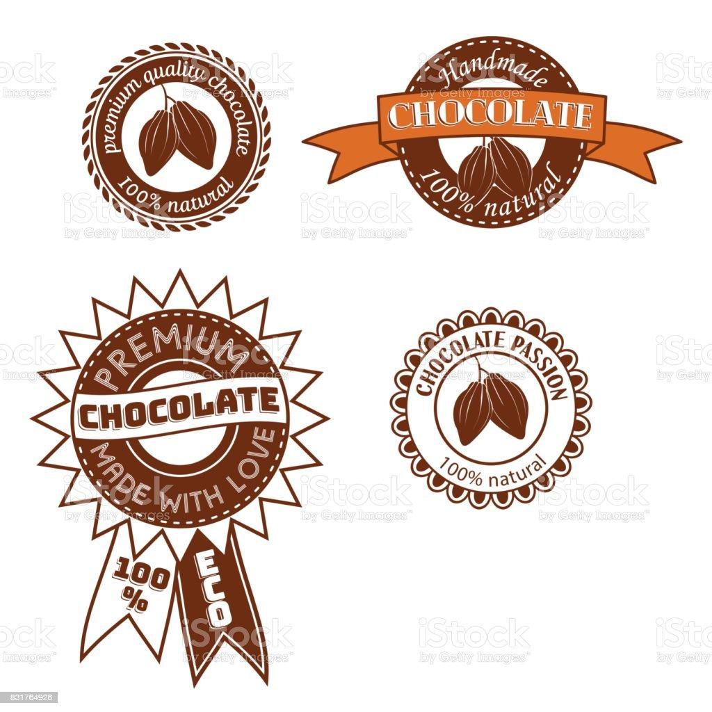 Ilustración de Conjunto De Símbolo Plantilla Diseños Con Granos De ...